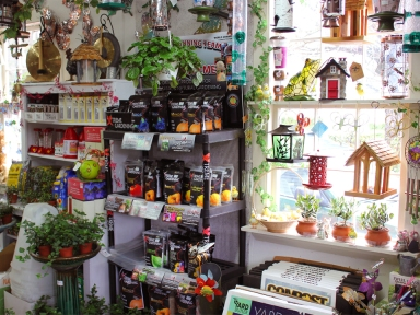 Gifts for gardeners: bird feeders, wind chimes, garden art, house plants and more