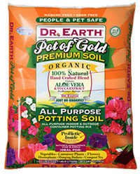 Dr Earth Pot of Gold Organic Potting Soil