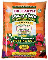 Dr Earth Pot of Gold Organic Potting Soil