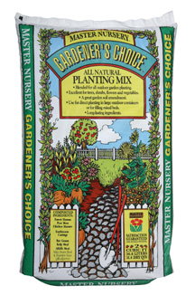 Master Nursery Gardeners Choice All Natural Planting Mix