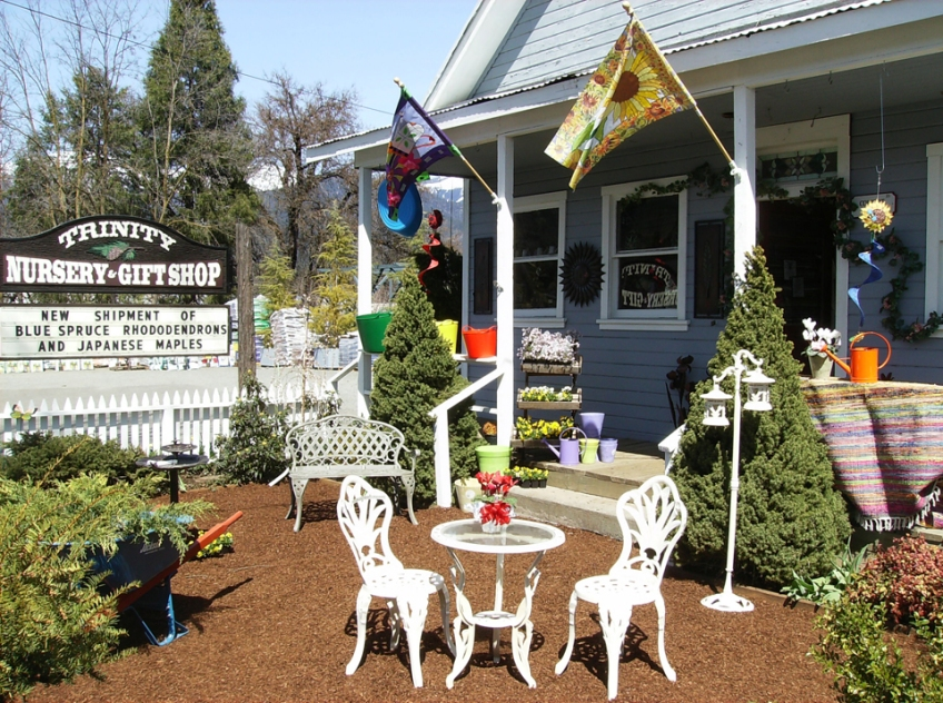 Trinity Nursery front yard display