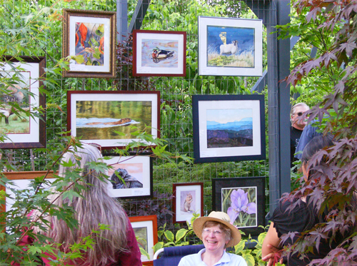 Art Cruise at Trinity Nursery