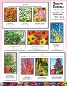 2014 spring plant showcase flyer, pg 2