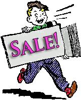 We're having a sale!
